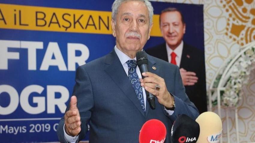 """Bülent Arınç'tan flaş sözler! """"İstanbul seçimlerinde başarılı olamazsak..."""""""