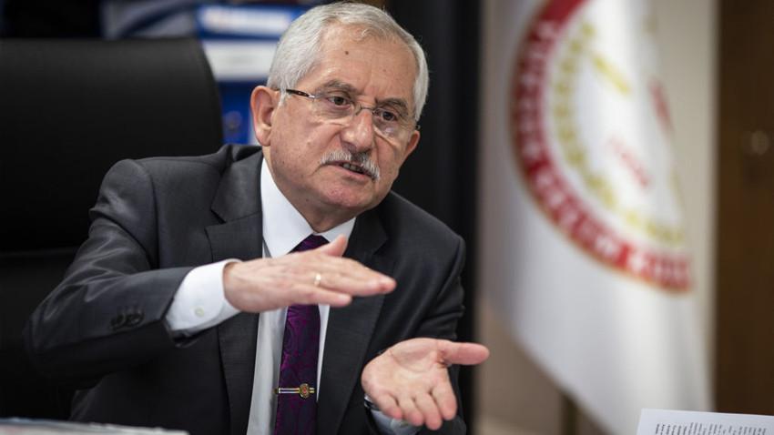 YSK Başkanı Güven'den İstanbul için flaş açıklama!