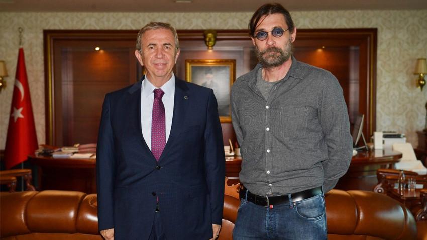 Erdal Beşikçioğlu'ndan Mansur Yavaş'a ziyaret: Bir fotoğraf iki Ankaralı