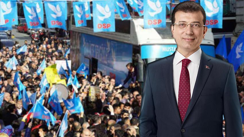 DSP'den Ekrem İmamoğlu kararı!