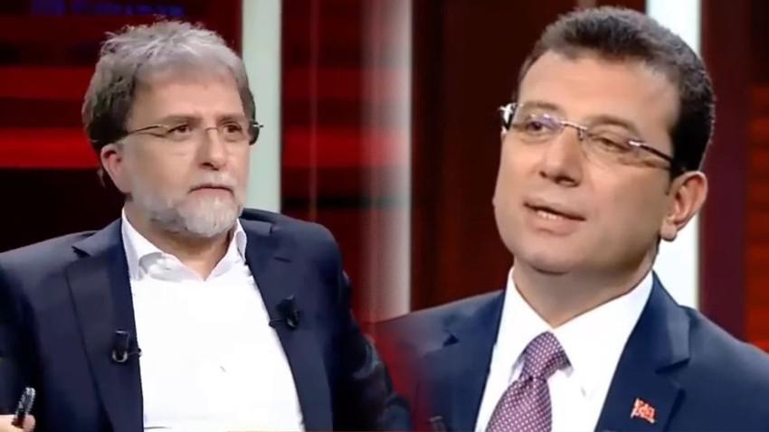 Ekrem İmamoğlu'ndan Ahmet Hakan hakkında ilk açıklama