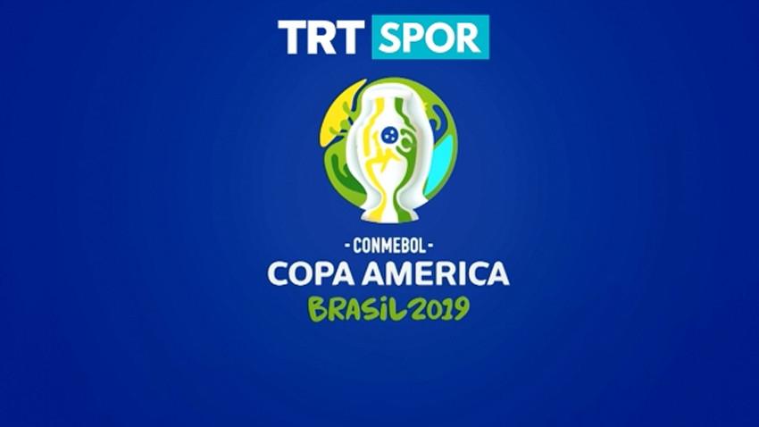 Copa America heyecanı TRT SPOR'da!