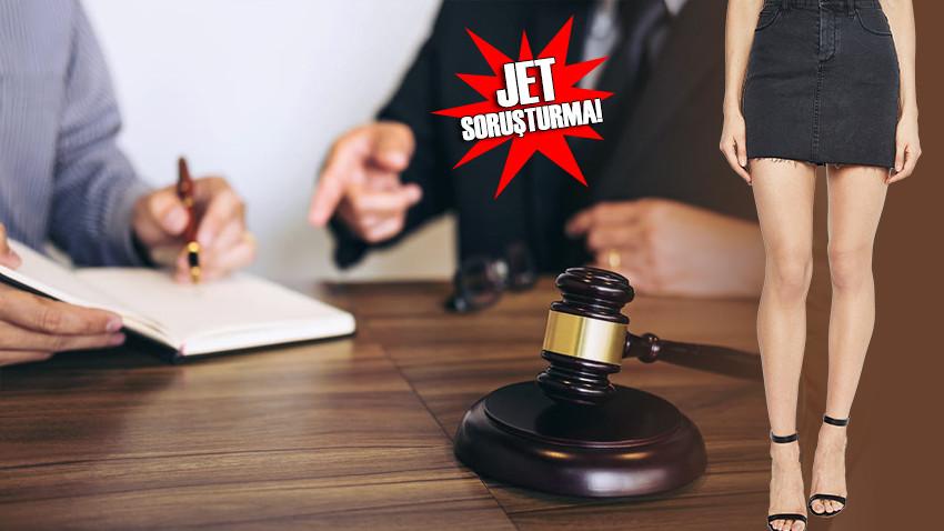 Duruşmada hakimle avukatın 'mini etek' kavgası!