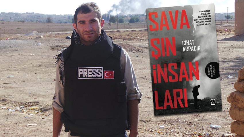 Deneyimli muhabirin 7 yıllık Suriye anıları kitaplaştı