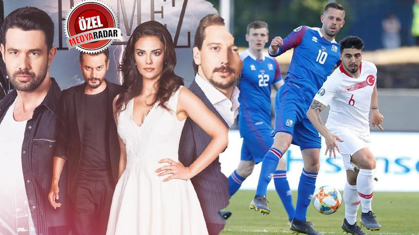 İzlanda-Türkiye maçı zirvede! Atv'nin yeni dizisi reyting yarışında ne yaptı?