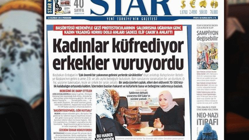 Kadınlar küfrediyor, erkekler vuruyordu! Star'ın Kabataş yalanı internet sitesinden 'uçtu'