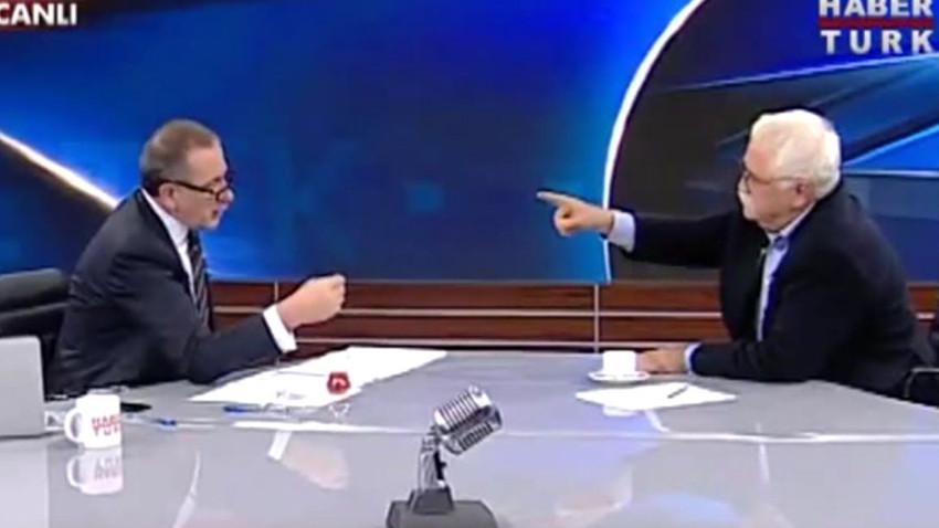 Doğu Perinçek, Fatih Altaylı, Levent Kırca kavga videosu! Twitter yıkılıyor