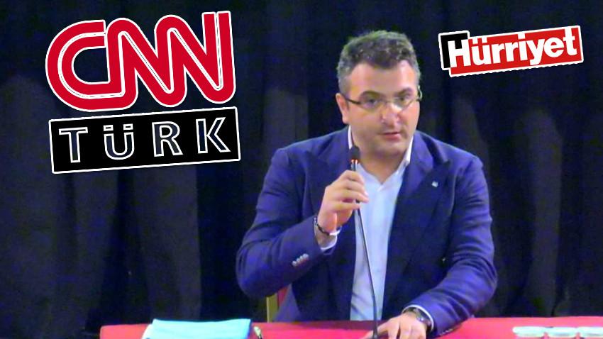 """""""CNN ve Hürriyet'in el değiştirmesi bize yaramadı"""""""