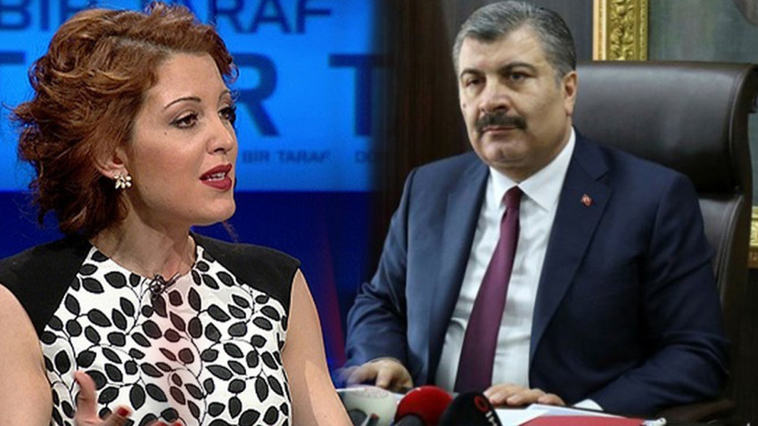 Nagehan Alçı'dan Sağlık Bakanı Koca'ya uyarı: Dikkatli olun!