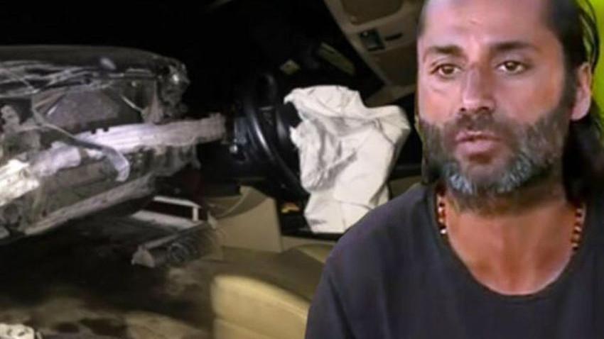 Trafik kazası geçiren Çılgın Sedat ölümden döndü