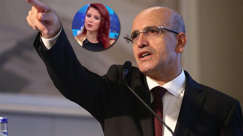 Nagehan Alçı'nın bomba Mehmet Şimşek iddiası! Tam göbeğinde!