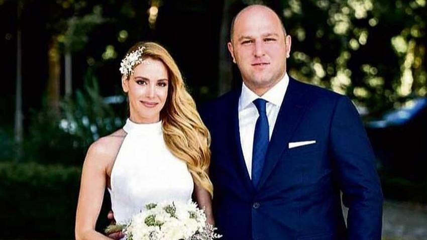 Turgay Ciner'e oyuncu gelin! Atilla Ciner ile Gözde Türkpençe evlendi!