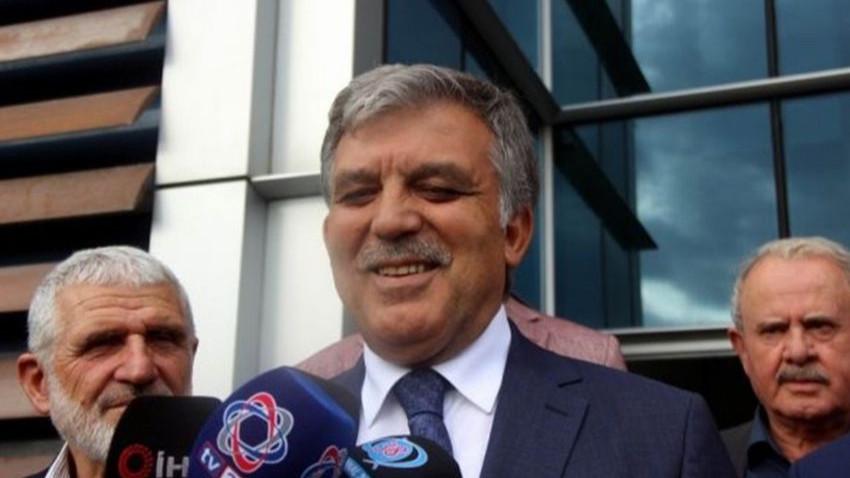 Abdullah Gül'e yeni parti sorusu! Cevabı kısa oldu!
