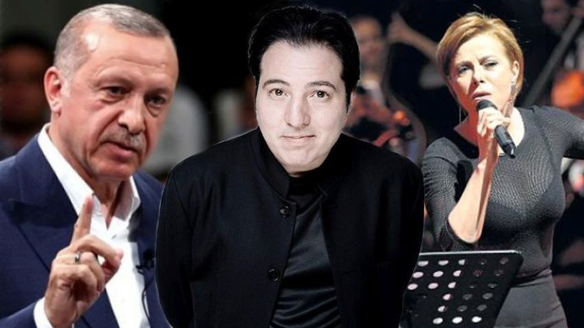 Fazıl Say, Erdoğan'a hakaretten ceza alan Zuhal Olcay'a destek oldu