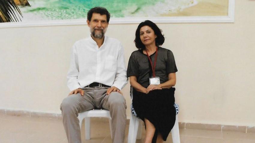 """Kavala'nın eşinden Özkök'e mektup: """"Kocam niye 21 aydır dört duvar arasında?"""""""