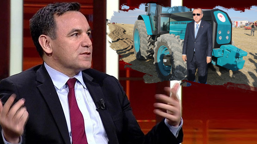 Deniz Zeyrek'ten Erdoğan'a traktör cevabı: O kadar da değil