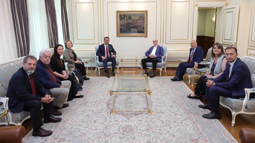 TGC'den İBB Başkanı Ekrem İmamoğlu'na ziyaret
