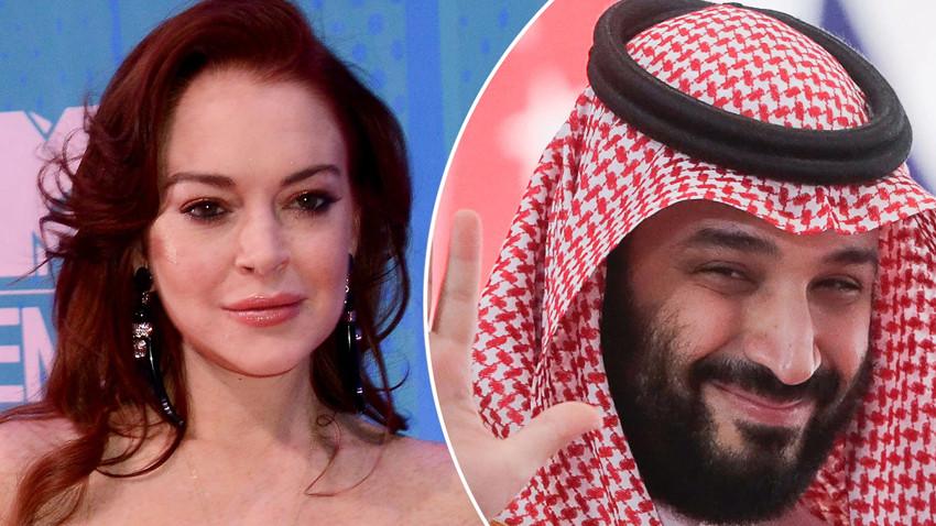 Prens Selman ve Lindsay Lohan aşk mı yaşıyor?