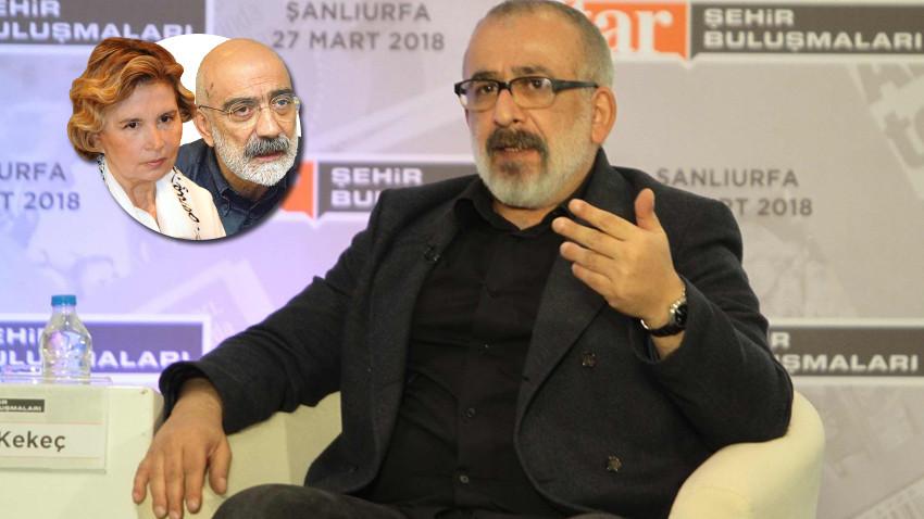 Ahmet Kekeç'ten Nazlı Ilıcak Ahmet Altan yazısı: İçim kaldırmadı