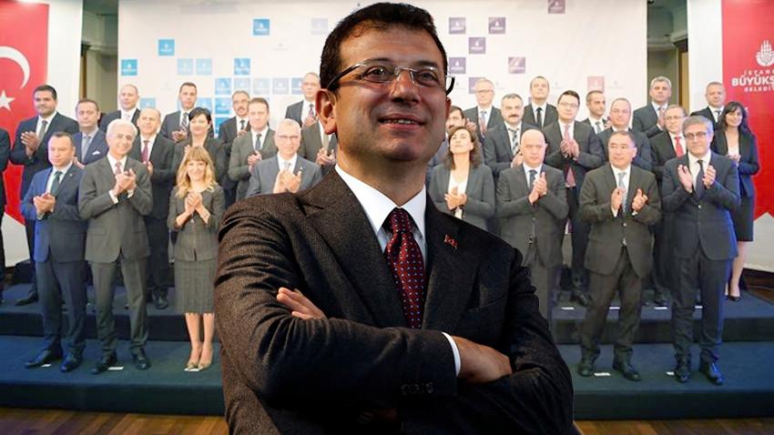 İmamoğlu, İBB üst yönetimini tanıttı