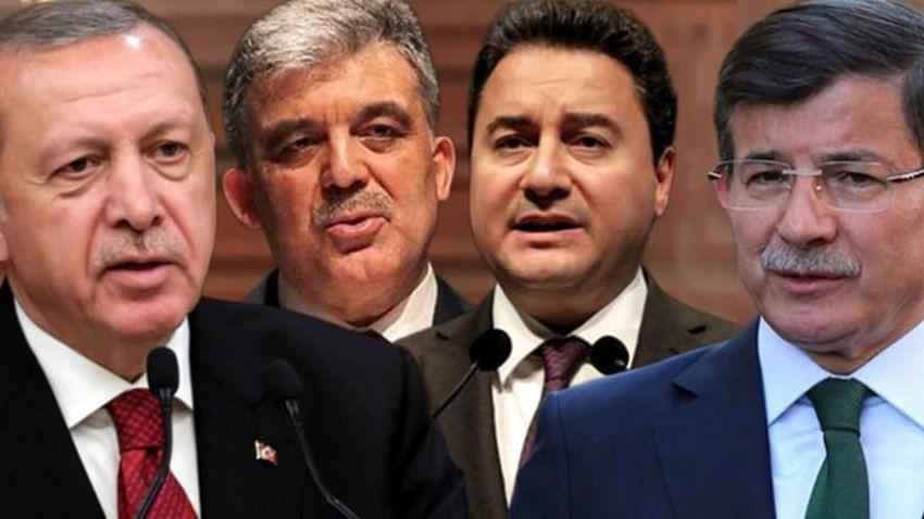 Erdoğan'dan medyaya 'Gül, Babacan ve Davutoğlu' talimatı