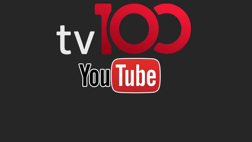 YouTube'dan tv100'e dikkat çeken ödül!