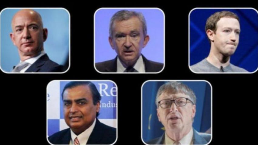 Dünyanın en zenginleri bir günde milyar dolarlar kaybetti