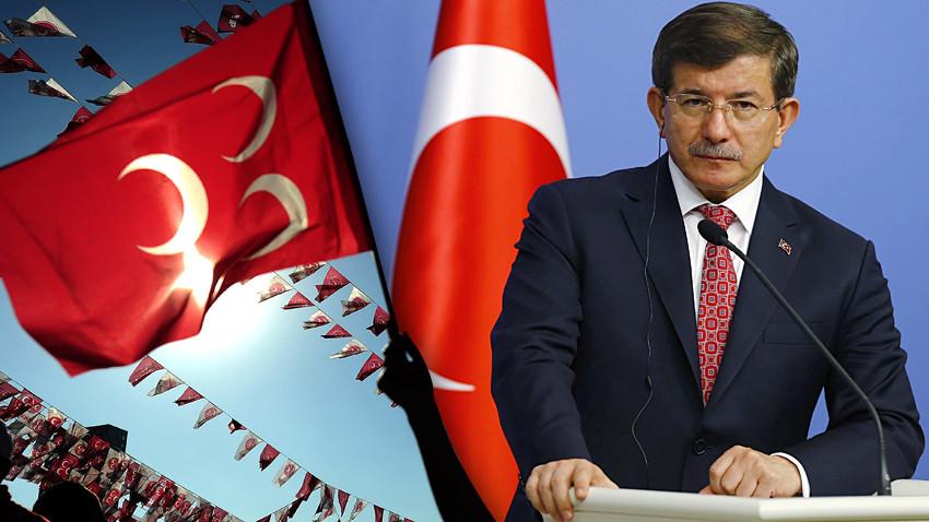 MHP'den Ahmet Davutoğlu'na sert yanıt! İbretlik bir savrulma yaşıyor