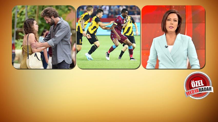 Trabzonspor-AEK karşılaşması zirveyi karıştırdı! İşte reyting sonuçları...