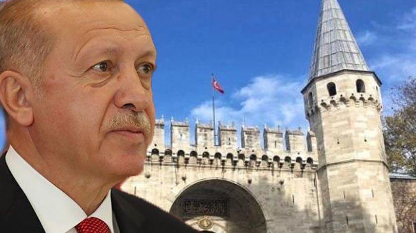 Erdoğan imzaladı... Topkapı Sarayı devredildi!