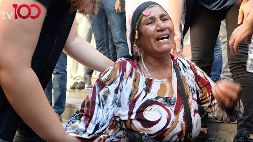 TV 100 çocukları kaçırılan annelerin yanında...