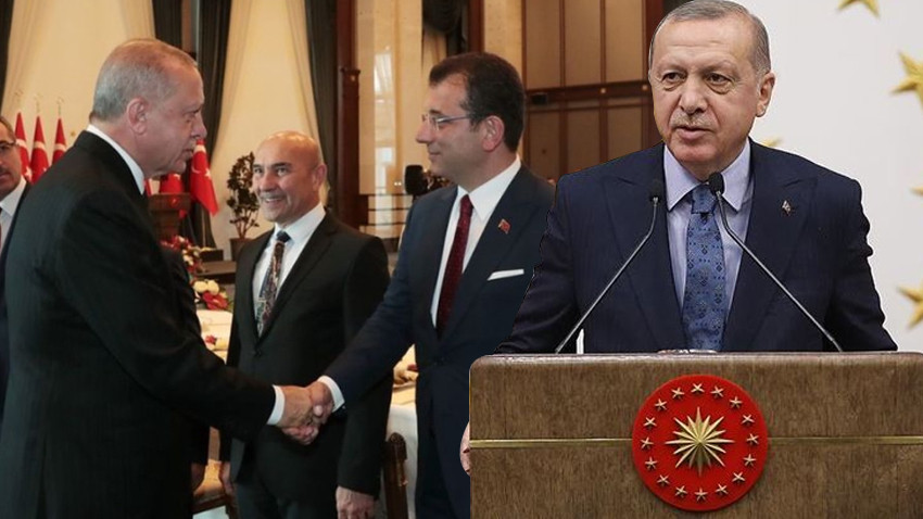 """Erdoğan, İmamoğlu'nu hedef aldı! """"Hadiseleri üzüntüyle takip ediyoruz"""""""