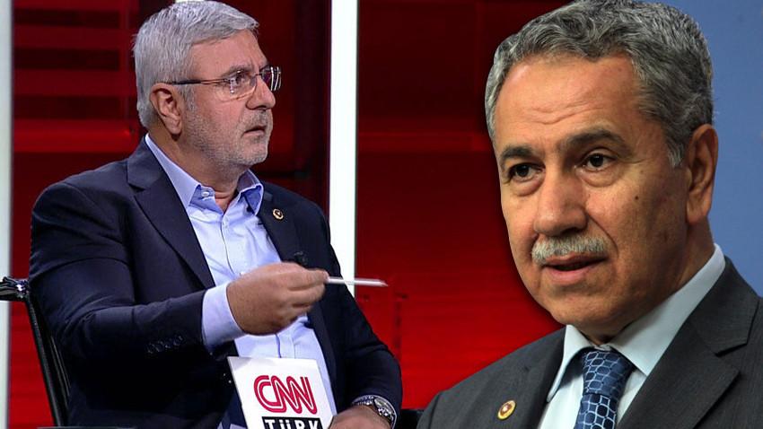 """Mehmet Metiner'den Arınç'a çok sert tepki! """"Kibir abidesi, al gölgeni, çek git!"""""""