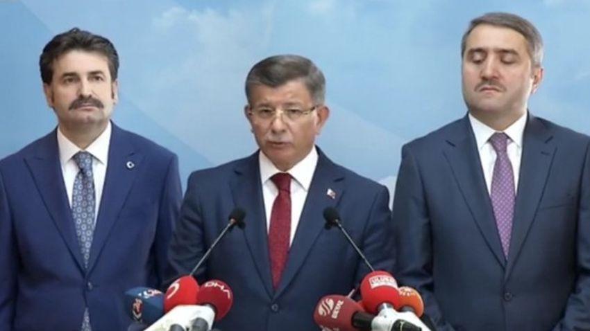 Son dakika: Davutoğlu AKP'den istifasını açıkladı!