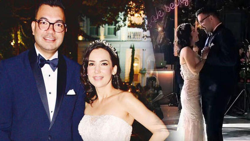 İpek Açar evlendi!