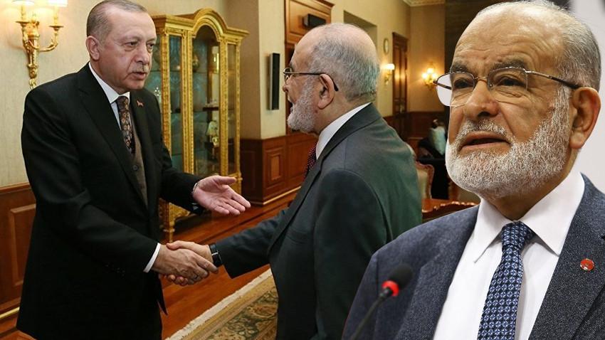 AK Parti ile ittifak olur mu? Karamollaoğlu, Erdoğan'la görüşmesini anlattı!