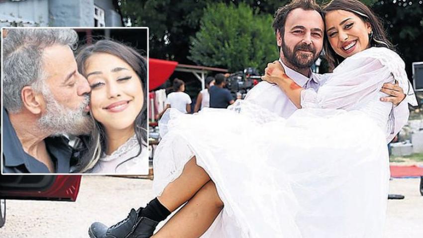 Hamdi Alkan'ın kızı Zeynep Alkan gelin oldu