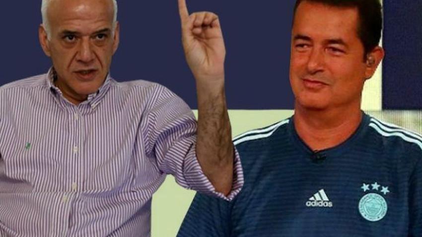 Beyaz TV'de gergin anlar! Acun Ilıcalı-Ahmet Çakar canlı yayında birbirine girdi!