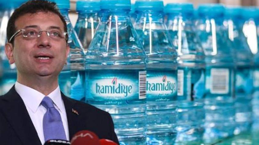 Ekrem İmamoğlu'ndan Hamidiye Su açıklaması: Yok satıyor!