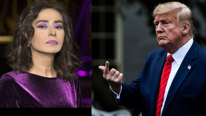 Yıldız Tilbe Trump açıklamasıyla salladı: Kafamızı bozarsanız...