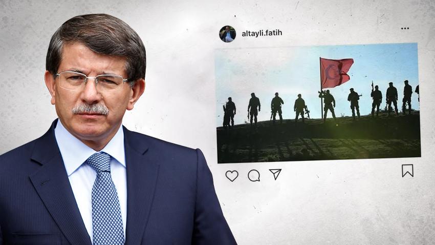 """Fatih Altaylı'dan Davutoğlu'na sert Barış Pınarı göndermesi! """"Pisliğini temizlemek..."""""""