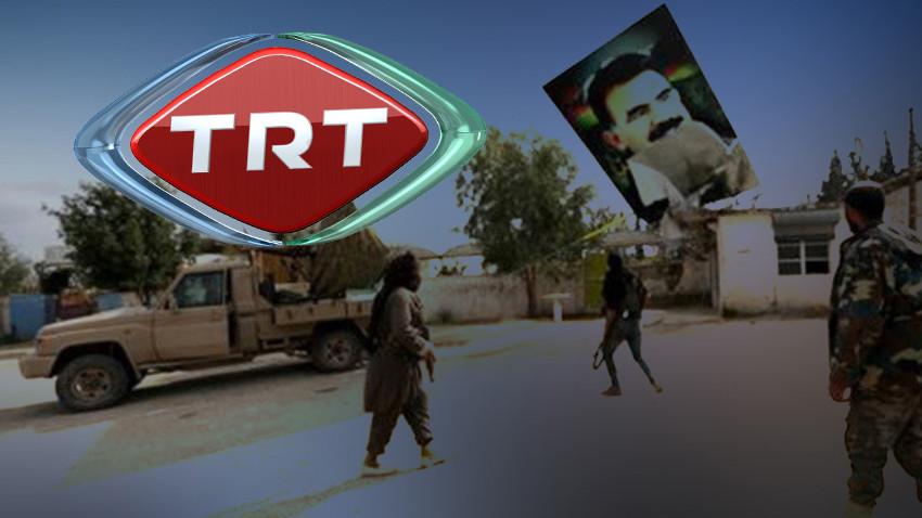 TRT Haber böyle trollendi! Zeytin Dalı Operasyonuna ait görüntüleri...