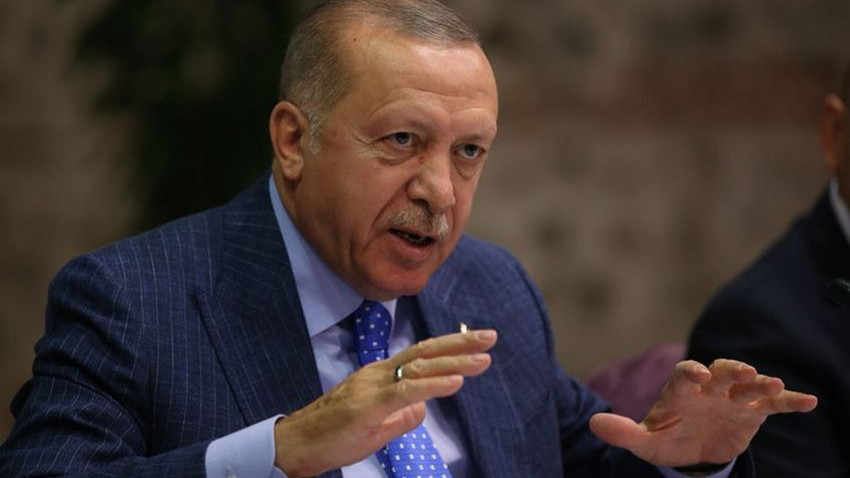 Erdoğan'ın gazetecilerle buluşmasında büyük sürpriz