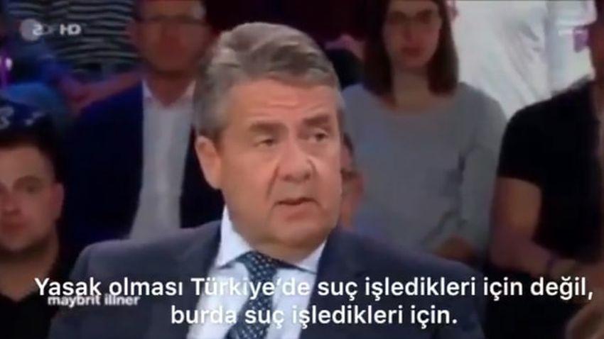 Eski Alman Bakandan çarpıcı PKK itirafı
