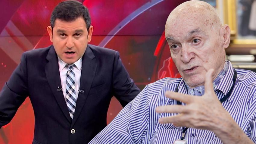 """Hıncal Uluç Fatih Portakal'ı topa tuttu: """"Amacını biliyorum, değmezsin..."""""""