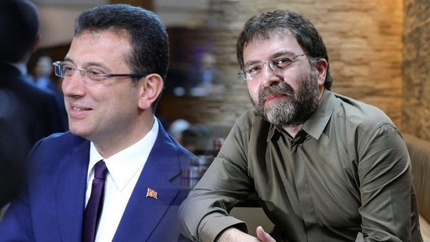 Ahmet Hakan: İmamoğlu'nun 29 Ekim mesajına yüzde yüz katılıyorum