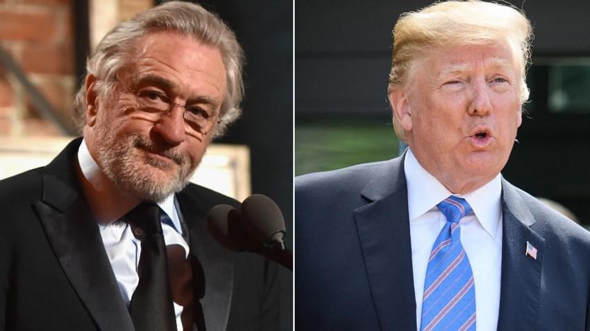 """Ünlü aktörden Trump'a çok sert sözler! """"O bir salak, bir budala..."""""""