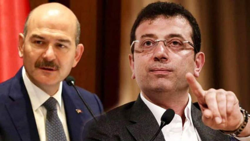 Ekrem İmamoğlu'ndan Süleyman Soylu'ya 'ahmak' yanıtı!
