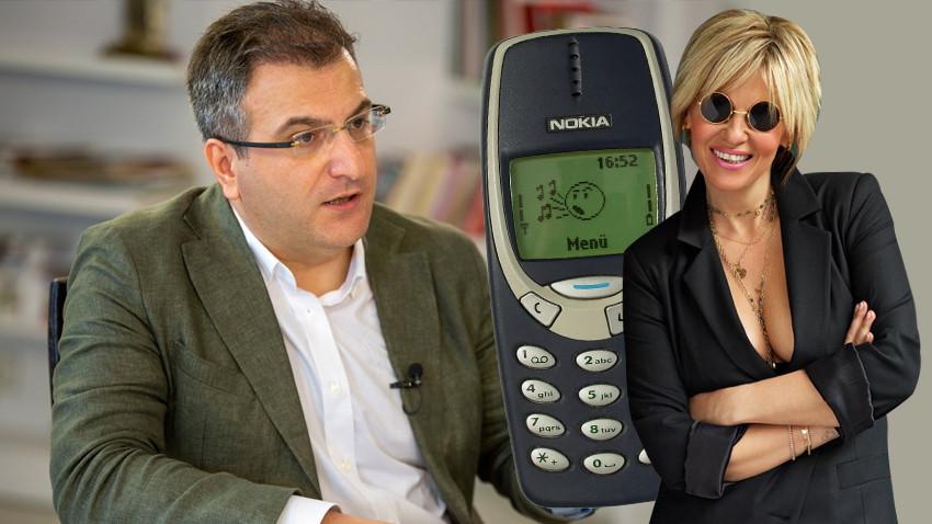 Cem Küçük'ten Ayşe Arman'a bomba 'Nokia' göndermesi!