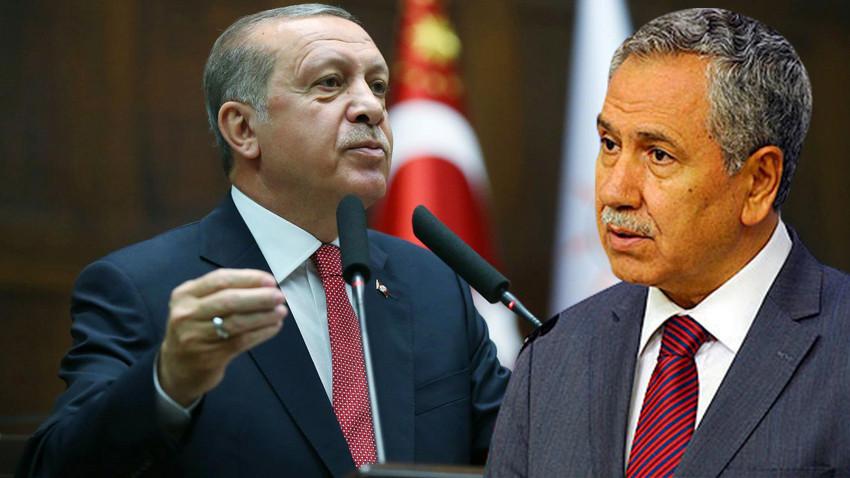 """Cumhurbaşkanı Erdoğan'dan Bülent Arınç'a KHK tepkisi: """"Esefle karşıladım"""""""